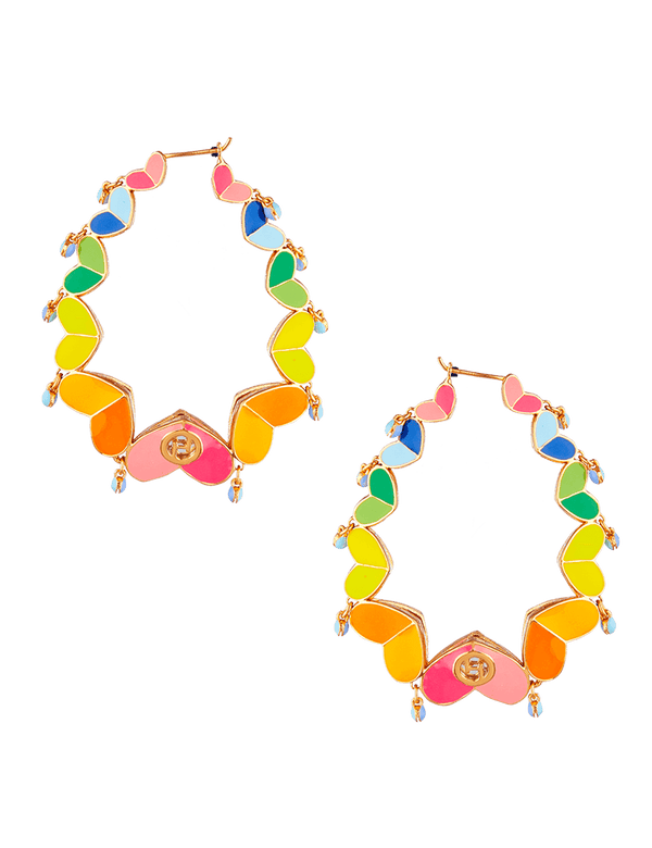LGBTQ Pride Hoop Earrings