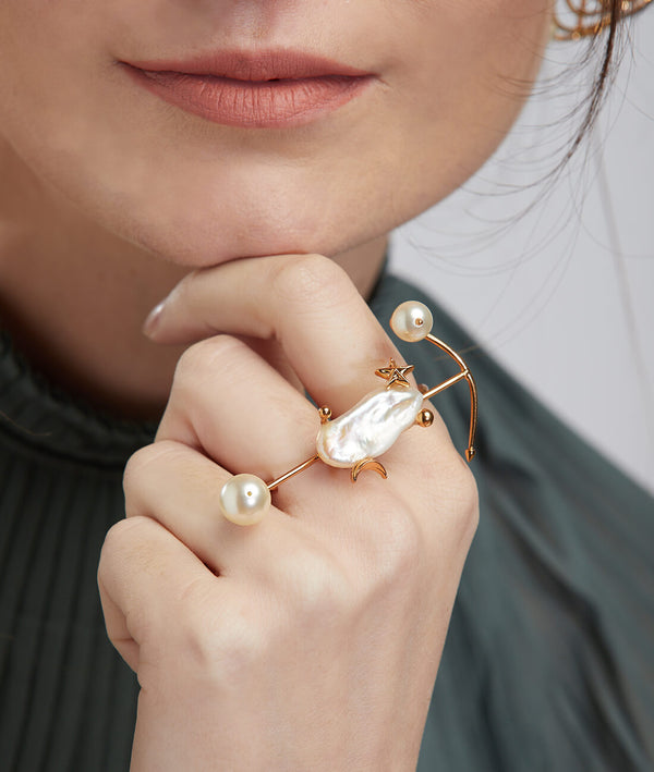 Pearls women rings