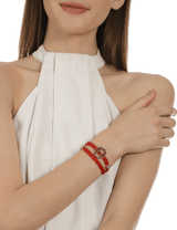 Red Female Bracelets Jewellery