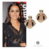 Shraddha Kapoor Celebrity Jewellery Designer Earrings