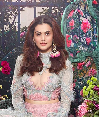 Taapsee Pannu Celebrity Jewellery Collection