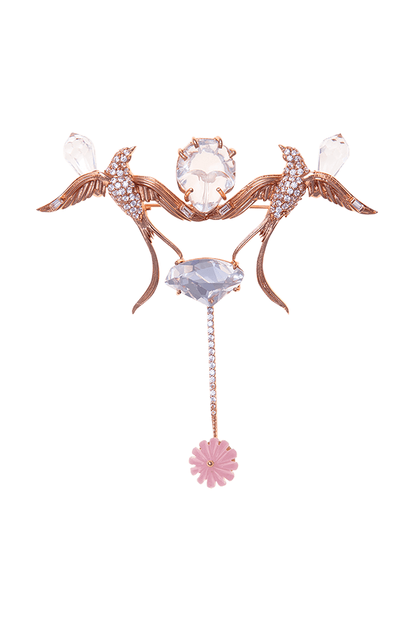 Bridal brooch for men and women