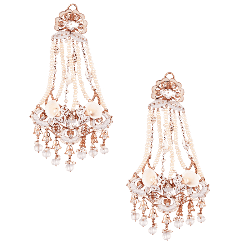 Wedding bridal earrings for women