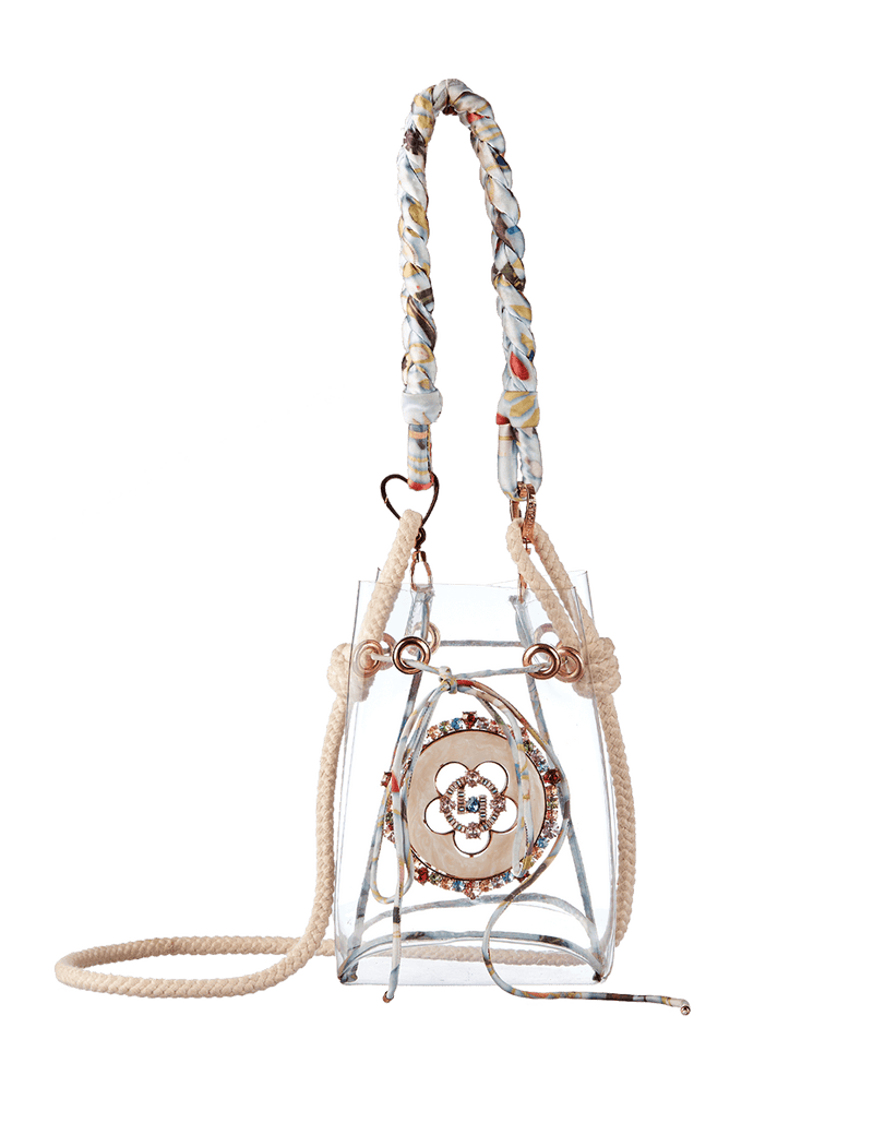 The Clear Kabanos Petite Bag - Blue