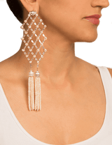 Weave bridal earrings collection