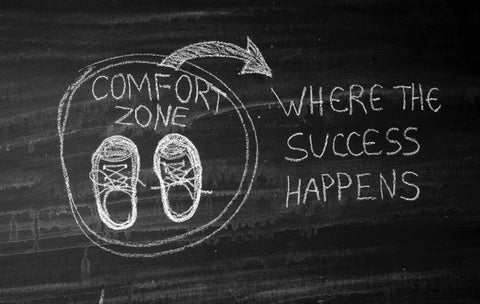 Stepping out the comfort zone