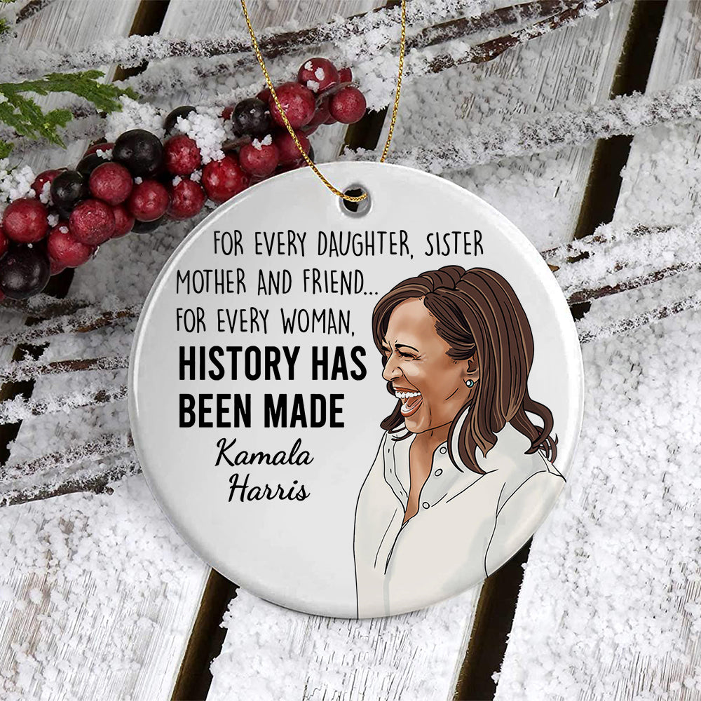 BH History Made Ornament