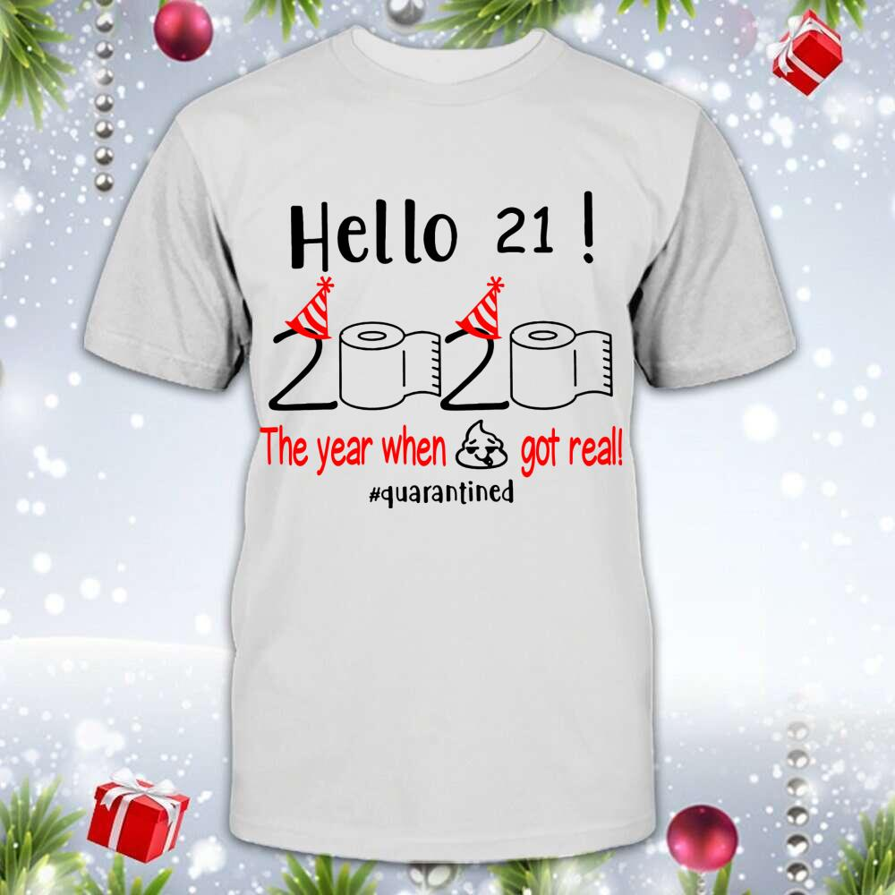 21 Hello The Year Customized Shirt