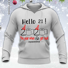 Load image into Gallery viewer, 21 Hello The Year Customized Shirt