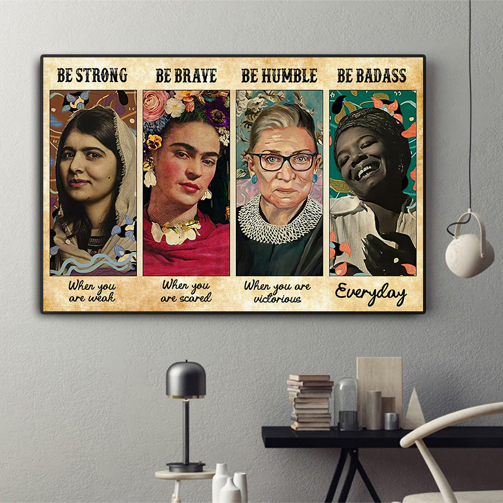 RBG Be Strong Poster