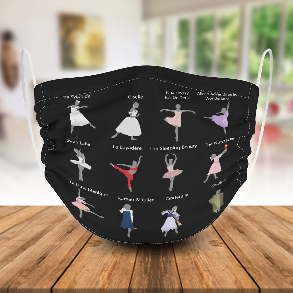 Ballet Costume Infographic Mask