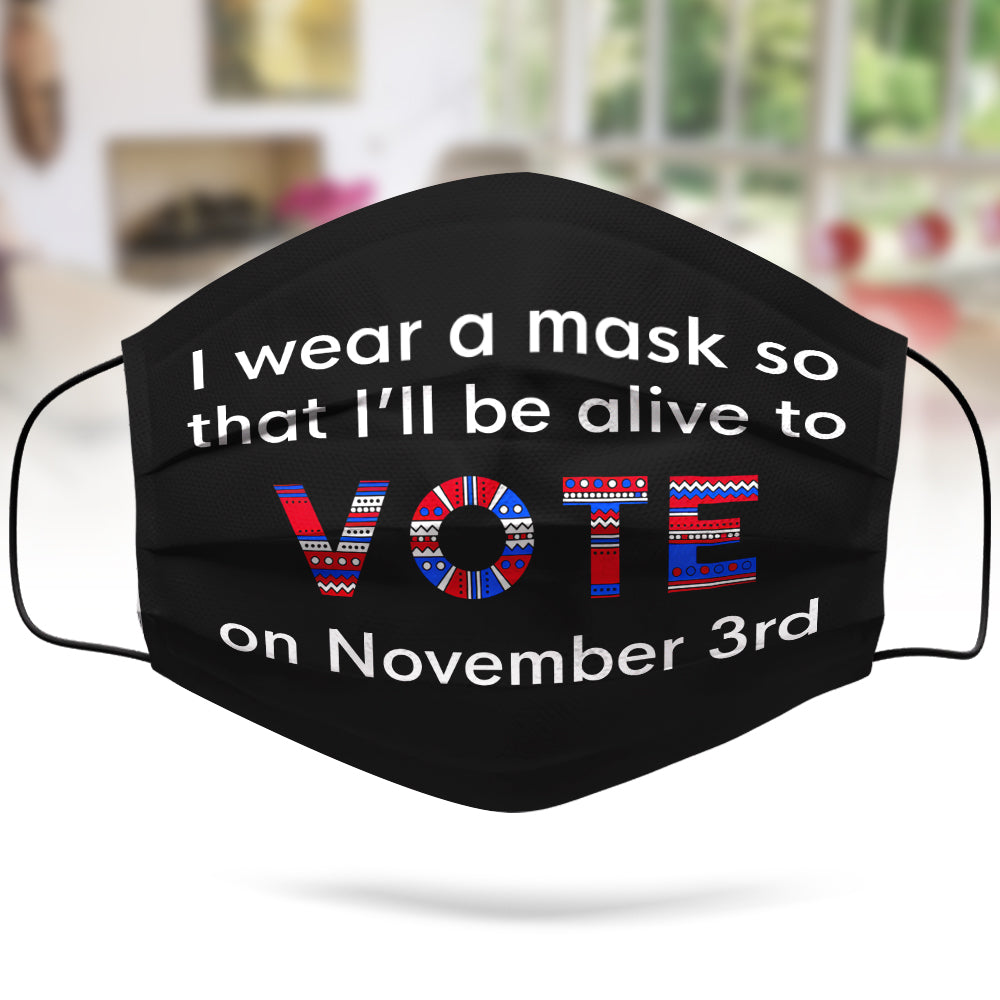 Alive Nov 3 Mask