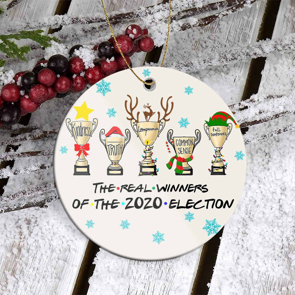BH Real Winners Ornament