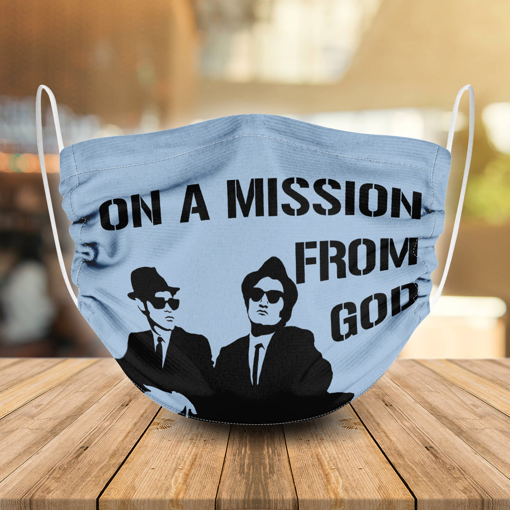 On A Mission From God The Blues Brothers Mask