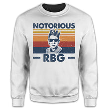 Load image into Gallery viewer, RBG Notorious Retro Shirt