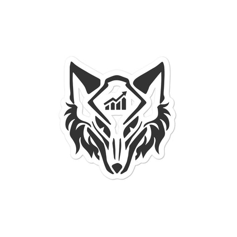 Become the wolf sticker