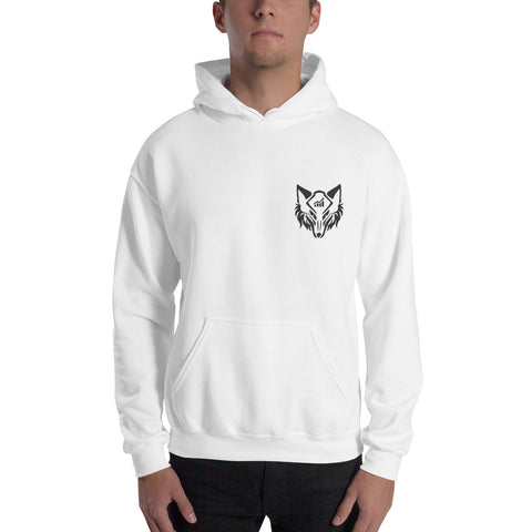 The Wolf Hoodie White