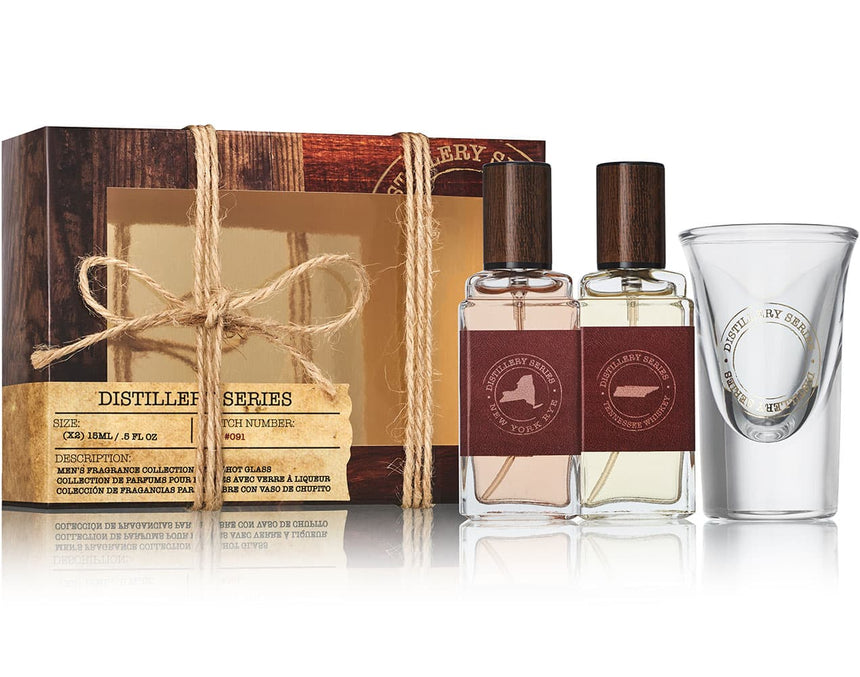 Tennessee Whiskey/ New York Rye 3-pc Mini Coffret Gift Set