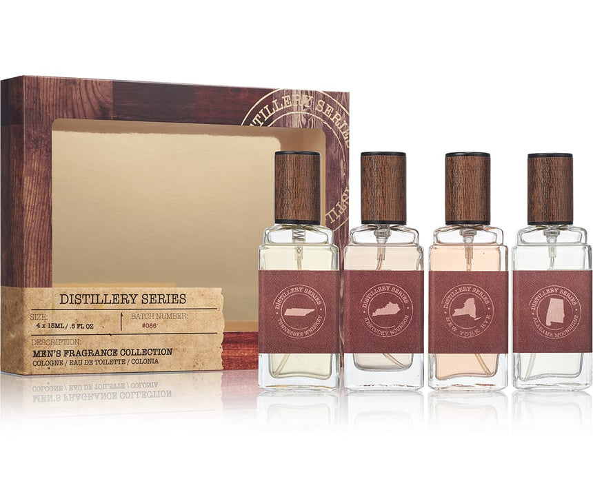 Distillery Series 4-pc Mini Coffret Gift Set