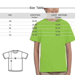 Custom Kid's T-Shirt with Text Age Design Your Own