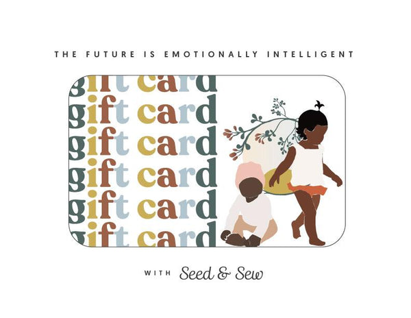 Tiny Humans, Big Emotions Class Gift Card