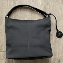 Load image into Gallery viewer, David Jones Black Bucket Handbag - Large