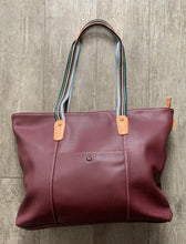 Load image into Gallery viewer, David Jones Large Tote with Contrast Material Handle