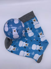 Load image into Gallery viewer, Little Blue House Novelty Bauble Socks - for Him and Her