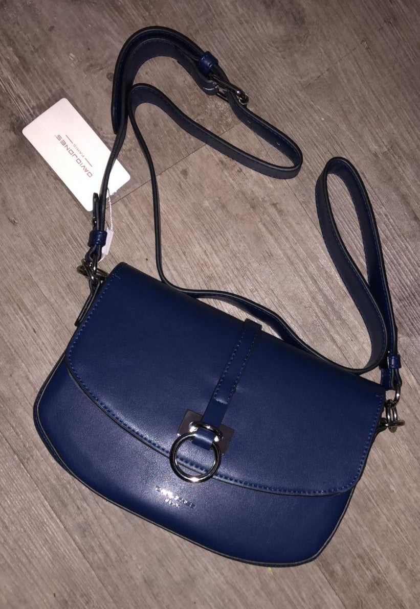 David Jones Shoulder Bag With Decorative Buckle - 3 colours
