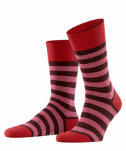 Load image into Gallery viewer, Falke Mens Sock Stripe. Comfort Fit - Assorted Colours UK Size 8.5 - 11