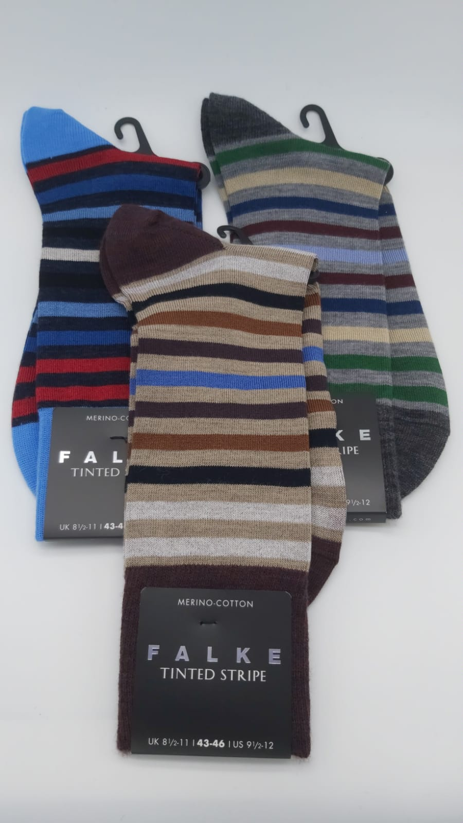 Falke Mens Sock - Tinted Stripe