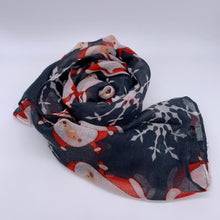 Load image into Gallery viewer, Scarves With Christmas Designs
