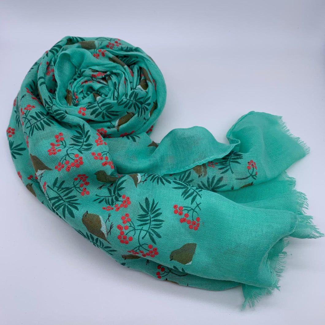 Scarves With Christmas Designs