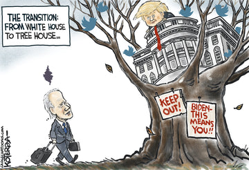 From White House to Tree House — Cartoon Print