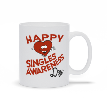 Happy Singles Awareness Day - Mug