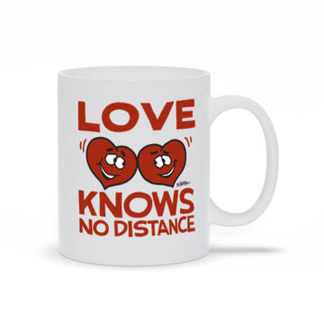 Love Knows No Distance - Mug