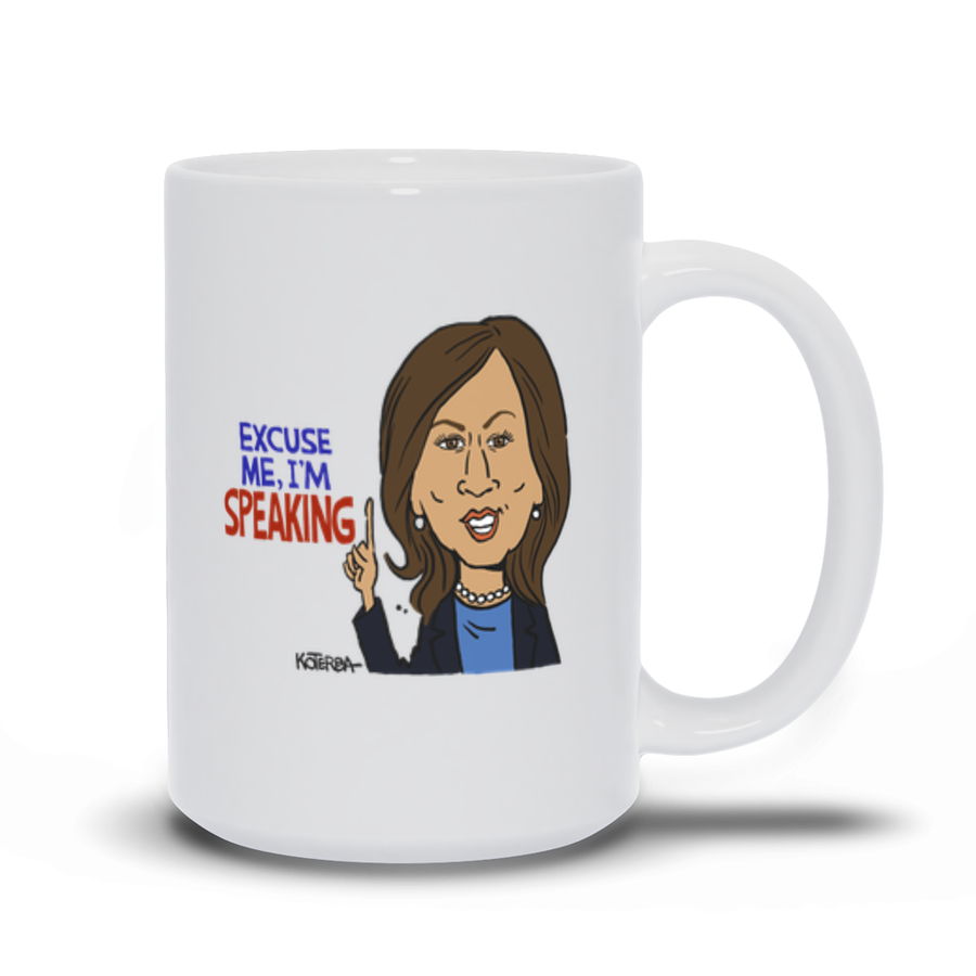 Excuse Me, I'm Speaking - Mug