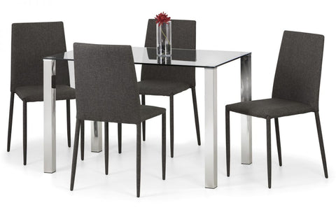 Jazz Fabric Dining Chair