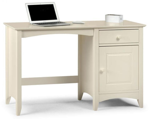Cameo Desk - Stone White