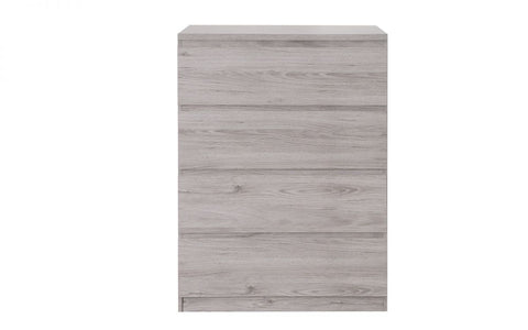 Jupiter 4 Drawer Chest Of Drawers - Grey Oak