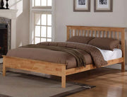 Pentre Oak Bed Frame and Cashmere 1000 Mattress