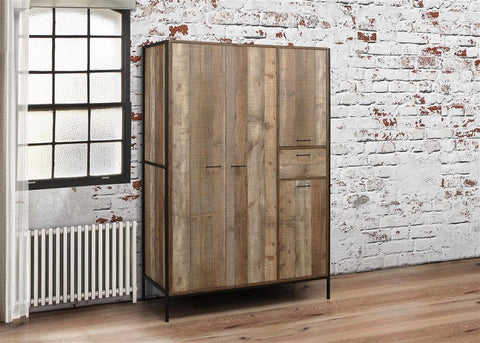Urban 4 Door Combination Wardrobe