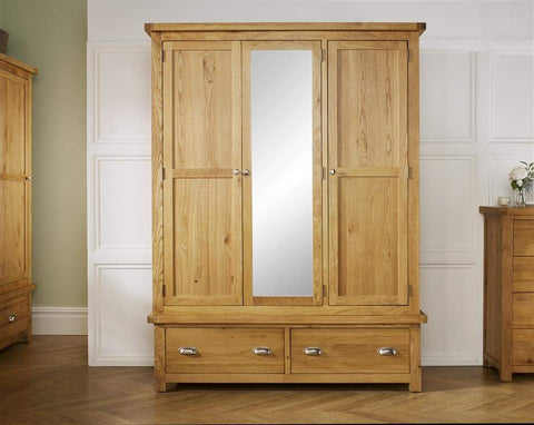 Woburn 3 Door 2 Drawer Wardrobe
