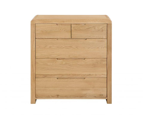 Curve 3+2 Drawer Chest Of Drawers