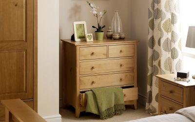Kendal 4+2 Chest of Drawers FREE DELIVERY