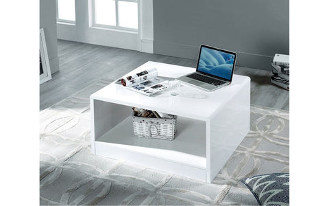 Manhattan High Gloss Square Coffee Table
