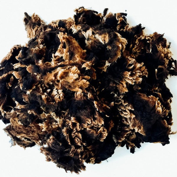 Black Merino Wool by the kilo (raw wool)