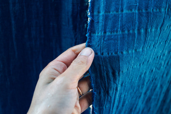 6th of February 2021/Introduction to organic dyeing with Indigo - ONLINE