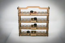 Load image into Gallery viewer, Vertical Paint storage rack for model painting, compatible with several vendors as Citadel/Army Painter/Vallejo DIY
