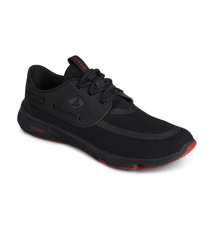 Sperry Mens 7-seas 3-eye Black/Red